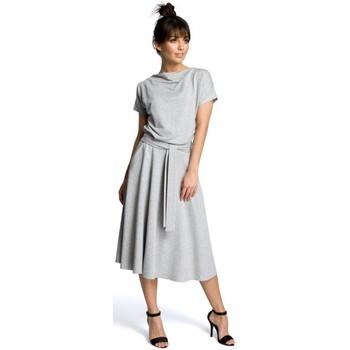 Textil Mulher Vestidos curtos Be B067 Vestido em fósforo - cinzento