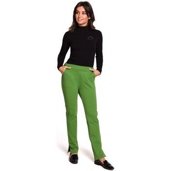 Textil Mulher Calças Be B124 Calças de Jogger com rachaduras - lima