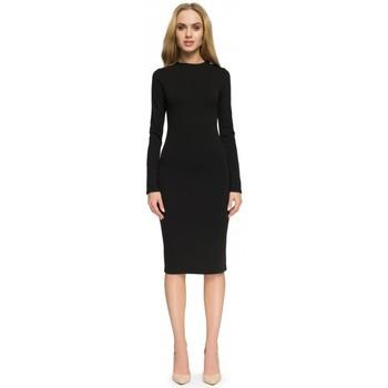 Textil Mulher Vestidos Style S033 Vestido - castanho