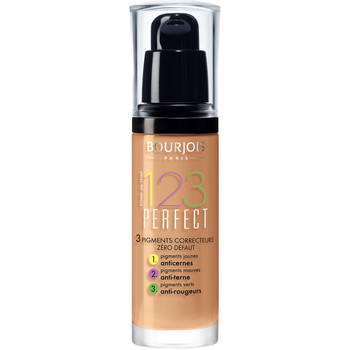 beleza Mulher Base rosto Bourjois 123 PERFECTION FOUNDATION 57 HALE CLAIR