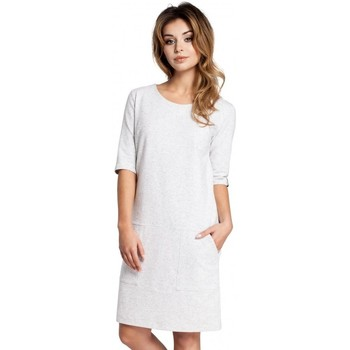 Textil Mulher Vestidos curtos Be B033 Vestido de mudança de caixa - stracciatella