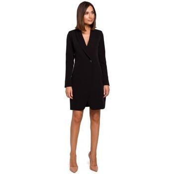 Textil Mulher Vestidos Style S217 Blazer dress - preto