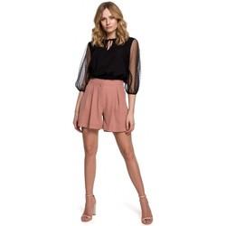 Textil Mulher Shorts / Bermudas Makover K049 Calções descontraídos - rosa