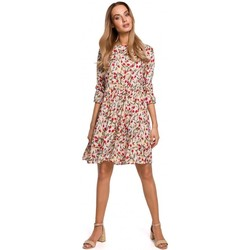 Textil Mulher Vestidos curtos Moe M521 Vestido de manga grelhada - modelo 5