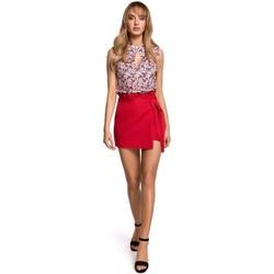 Textil Mulher Saias Moe M515 Skorts - vermelho