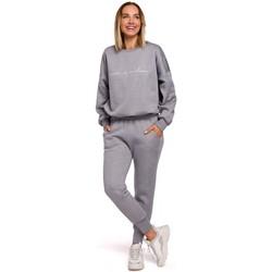 Textil Mulher Calças de treino Moe M535 Calças de Jogger com cintura elástica - aço