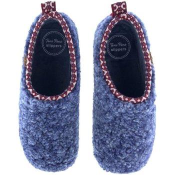 Sapatos Mulher Sapatos & Richelieu Toni Pons Zapatillas de Casa  Marta-Sh Azul Azul