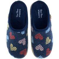 Sapatos Mulher Chinelos Toni Pons Zapatillas de Casa  Miri-Hf Marino Azul