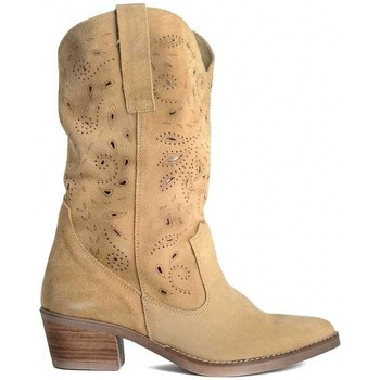 Sapatos Mulher Botas Zap-In LASER COW Bege