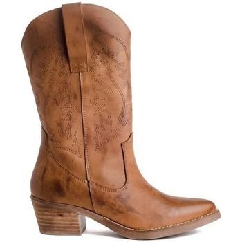 Sapatos Mulher Botas Funny Lola CAW Castanho