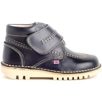 Sapatos Criança Botas baixas Colour Feet TUAREG Azul