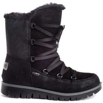 Sapatos Rapariga Botas Imac 430508 Preto