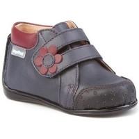 Sapatos Rapariga Botins Cbp - Conbuenpie Botin de mujer de piel by PEPE MENARGUES (TUPIE) Bleu