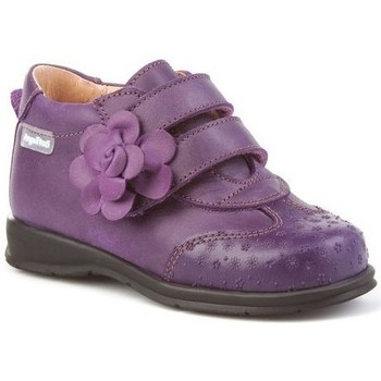 Sapatos Rapariga Botins Cbp - Conbuenpie Botin de mujer de piel by PEPE MENARGUES (TUPIE) Violet