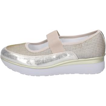 Sapatos Mulher Sabrinas Cinzia Imprint Sapatilhas BJ243 Prata