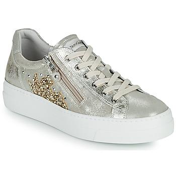 Sapatos Mulher Sapatilhas NeroGiardini EDDY Ouro