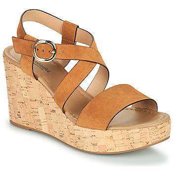 Sapatos Mulher Sandálias NeroGiardini JIPPO Conhaque