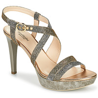 Sapatos Mulher Sandálias NeroGiardini KARKI Cinza / Ouro