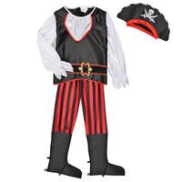Textil Rapaz Disfarces Fun Costumes COSTUME ENFANT PIRATE TOM Multicolor