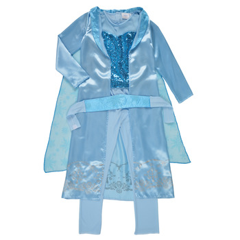 Textil Rapariga Disfarces Fun Costumes COSTUME ENFANT PRINCESSE DES NEIGES Multicolor