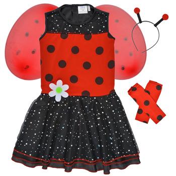 Textil Rapariga Disfarces Fun Costumes COSTUME ENFANT BIRDIE BEETLE Multicolor
