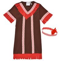 Textil Rapariga Disfarces Fun Costumes COSTUME ENFANT INDIENNE FOX KITTEN Multicolor