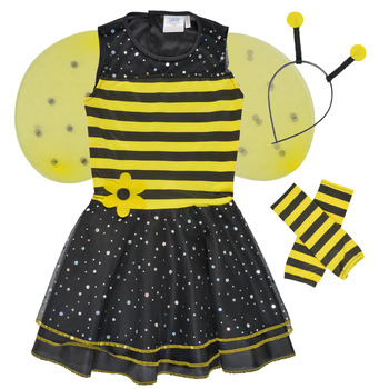 Textil Rapariga Disfarces Fun Costumes COSTUME ENFANT BEE BEE Multicolor