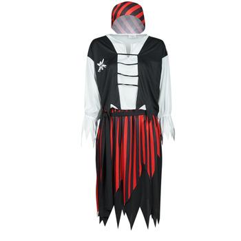 Textil Mulher Disfarces Fun Costumes COSTUME ADULTE PIRATE SUZY Multicolor