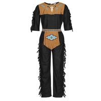 Textil Homem Disfarces Fun Costumes COSTUME ADULTE INDIENNE SHE-WOLF Multicolor