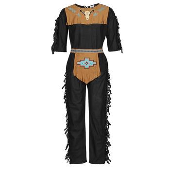 Textil Homem Disfarces Fun Costumes COSTUME ADULTE INDIEN NOBLE WOLF Multicolor