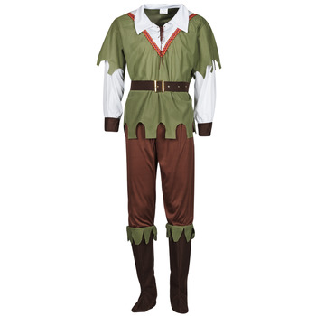 Textil Homem Disfarces Fun Costumes COSTUME ADULTE FOREST HUNTER Multicolor