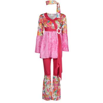 Textil Mulher Disfarces Fun Costumes COSTUME ADULTE HAPPY DIVA Multicolor