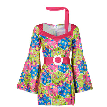 Textil Mulher Disfarces Fun Costumes COSTUME ADULTE SWEET MEADOW Multicolor
