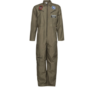 Textil Homem Disfarces Fun Costumes COSTUME ADULTE PILOTE JET Multicolor
