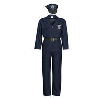 Textil Homem Disfarces Fun Costumes COSTUME ADULTE OFFICIER DE POLICE Multicolor