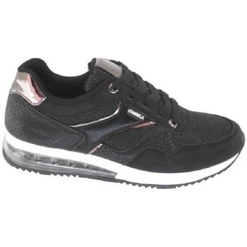 Sapatos Mulher Sapatilhas D'angela DJL18052-001 Preto