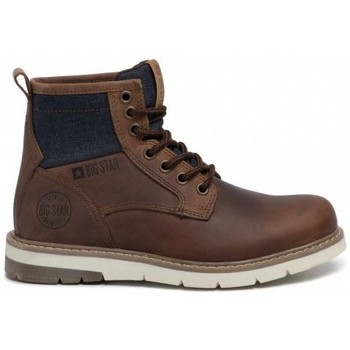 Sapatos Mulher Botas baixas Big Star EE274005 Castanho