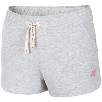 Textil Mulher Calças curtas 4F JSKDD001 Cinzento