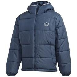 Textil Homem Casacos  adidas Originals Pad Hooded Puff Azul