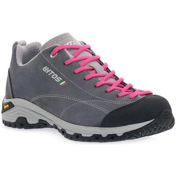 Sapatos Mulher Sapatos de caminhada Lytos LE FLORIAN TM82 Grigio