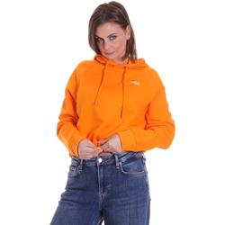 Textil Mulher Sweats Fila 687992 Laranja