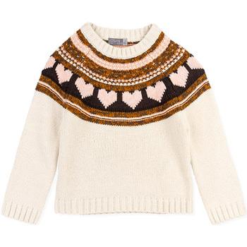 Textil Rapariga camisolas Losan 026-5001AL Branco