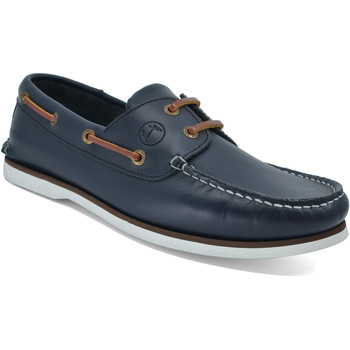 Sapatos Homem Sapato de vela Seajure Zlatni Azul Marinho