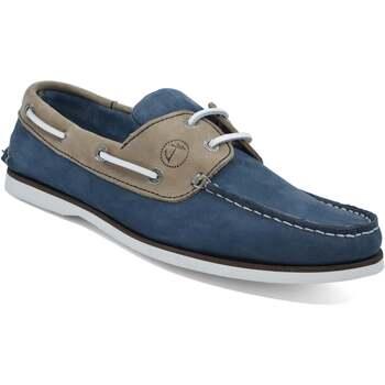 Sapatos Homem Sapato de vela Seajure Vicentina Camel e Azul