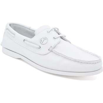Sapatos Homem Sapato de vela Seajure Knude Branco