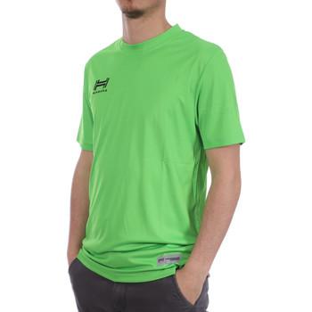 Textil Homem T-shirts e Pólos Hungaria  Verde
