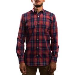 Textil Homem Camisas mangas comprida Klout  Rojo