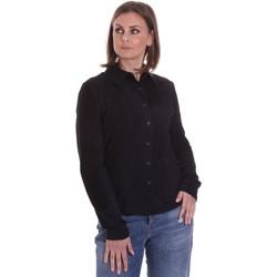 Textil Mulher camisas La Carrie 092P-C-110 Preto
