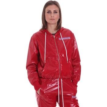 Textil Mulher Casacos  La Carrie 092M-TJ-430 Vermelho