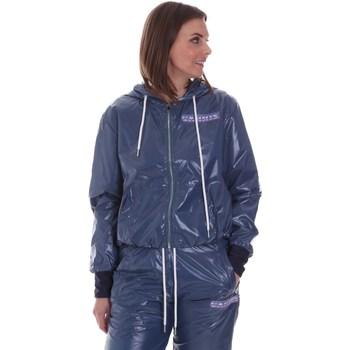 Textil Mulher Casacos  La Carrie 092M-TJ-440 Azul
